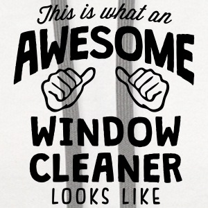 awesome window cleaner looks like T-SHIRT - Contrast Hoodie