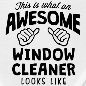 awesome window cleaner looks like T-SHIRT - Bandana