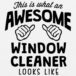 awesome window cleaner looks like T-SHIRT - Men's Premium Tank