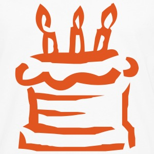 birthday cake T-SHIRT - Men's Premium Long Sleeve T-Shirt