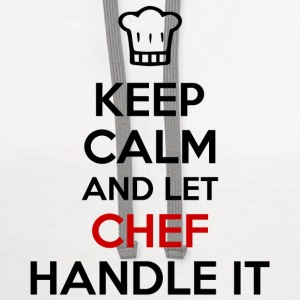 Let Chef Handle It Women's T-Shirts - Contrast Hoodie