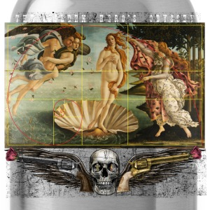 The Birth of Venus & the Golden Rectangle & Spiral T-Shirts - Water Bottle