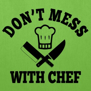 Don't Mess With Chef T-Shirts - Tote Bag