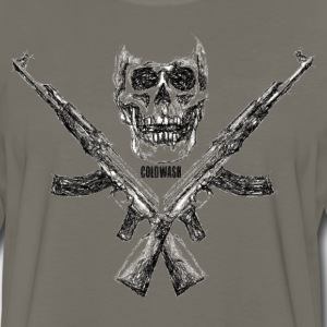 AK's & SKULL T-Shirts - Men's Premium Long Sleeve T-Shirt