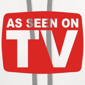 As Seen on TV T-SHIRT - Contrast Hoodie
