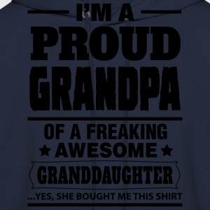 Proud Grandpa.... T-Shirts - Men's Hoodie
