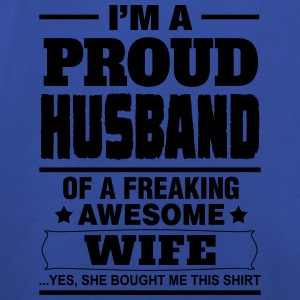 Proud Husband.... T-Shirts - Kids' Premium Hoodie