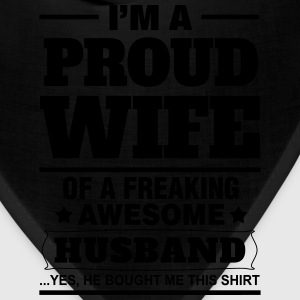 Proud Wife.... Women's T-Shirts - Bandana