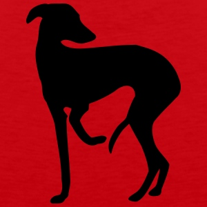 Italian greyhound T-Shirts - Men's Premium Tank