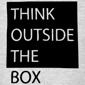 THINK OUTSIDE THE BOX Tank Tops - Men's T-Shirt