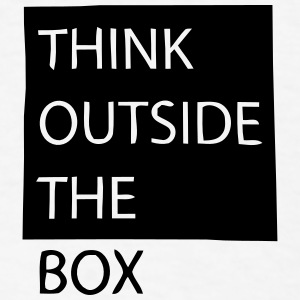 THINK OUTSIDE THE BOX Caps - Men's T-Shirt