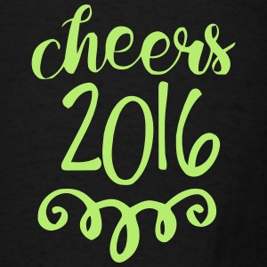 CHEERS 2016 - GOODBYE 2015 Tanks - Men's T-Shirt