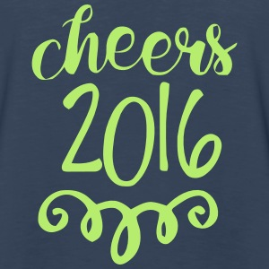 CHEERS 2016 - GOODBYE 2015 Tanks - Men's Premium Long Sleeve T-Shirt
