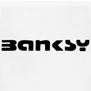 Banksy Tag T-SHIRT - Adjustable Apron