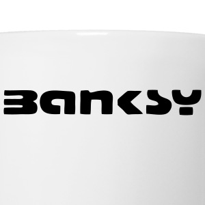 Banksy Tag T-SHIRT - Coffee/Tea Mug