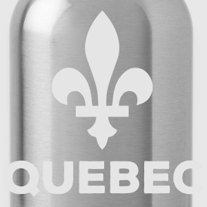 Quebec Flower symbol and Types - Water Bottle