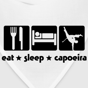 ca02 eat sleep capoeira T-SHIRT - Bandana
