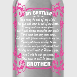 I love my brother - Water Bottle