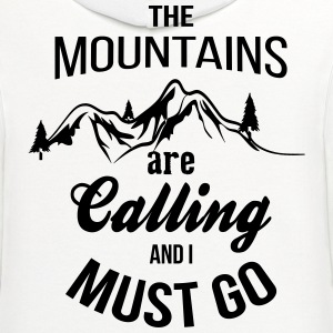 The Mountains Are Calling And I Must Go T-Shirts - Contrast Hoodie