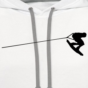 wakeboarder T-SHIRT - Contrast Hoodie