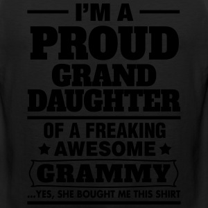Proud Granddaughter..... Women's T-Shirts - Men's Premium Tank