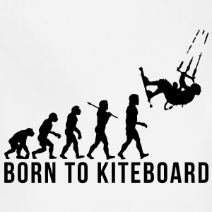 kiteboarding evolution born to kiteboard T-SHIRT - Adjustable Apron