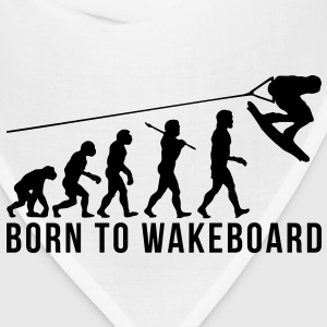 wakeboarding evolution born to wakeboard T-SHIRT - Bandana