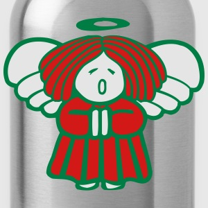 Christmas Angel Women's T-Shirts - Water Bottle