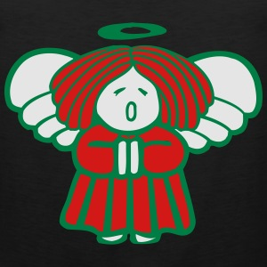 Christmas Angel Women's T-Shirts - Men's Premium Tank