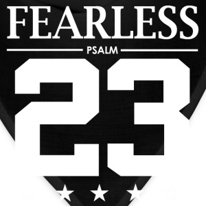 Fearless Psalm 23 - Bible Verse Quote - Bandana