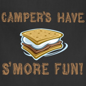 Camper's Have Smore Fun! Long Sleeve Shirts - Adjustable Apron