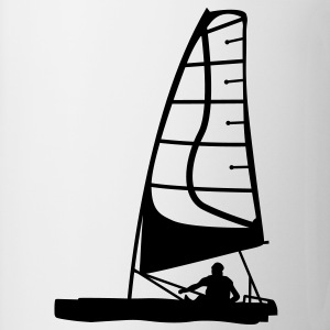 catamaran sail sailing T-SHIRT - Coffee/Tea Mug