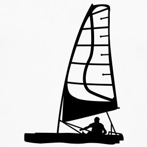 catamaran sail sailing T-SHIRT - Men's Premium Long Sleeve T-Shirt