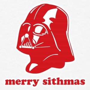 Darth Vader Merry Sithmas Long Sleeve Shirts - Men's T-Shirt