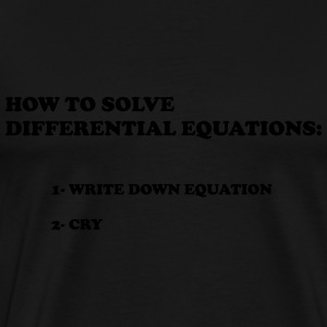 differential equations - Men's Premium T-Shirt