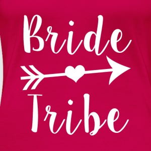 Bride Tribe Bridesmaid - Women's Premium T-Shirt