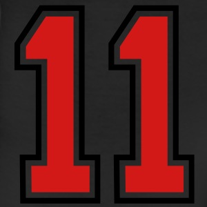 11 sports jersey football number T-SHIRT - Leggings