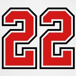 22 sports jersey football number T-SHIRT - Trucker Cap