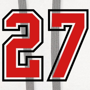 26 sports jersey football number T-SHIRT - Contrast Hoodie