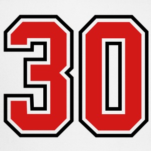 30 sports jersey football number T-SHIRT - Trucker Cap