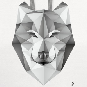 AD Geometric Wolf T-Shirts - Contrast Hoodie