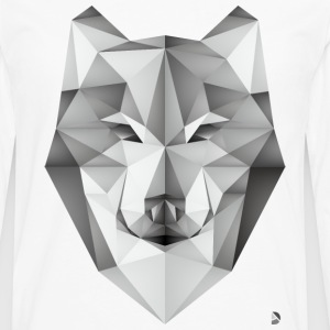 AD Geometric Wolf T-Shirts - Men's Premium Long Sleeve T-Shirt