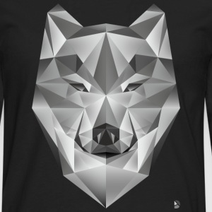 AD Grey Wolf T-Shirts - Men's Premium Long Sleeve T-Shirt