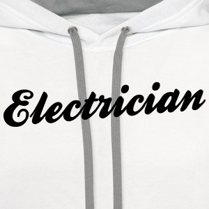 electrician t-shirt - Contrast Hoodie