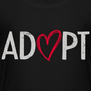 Adopt Heart Kids' Shirts - Toddler Premium T-Shirt