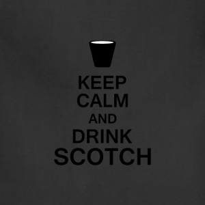 Keep Calm Scotch T-Shirts - Adjustable Apron