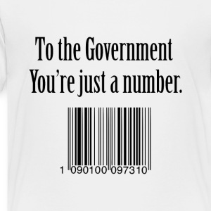 government number Kids' Shirts - Toddler Premium T-Shirt