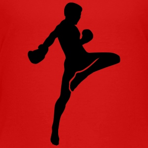 Muay Thai Kids' Shirts - Toddler Premium T-Shirt