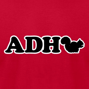 ADHD SQUIRREL! - Men's T-Shirt by American Apparel