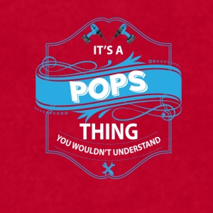 its a pops thing you wouldn tunderstand Mugs & Drinkware - Men's T-Shirt by American Apparel